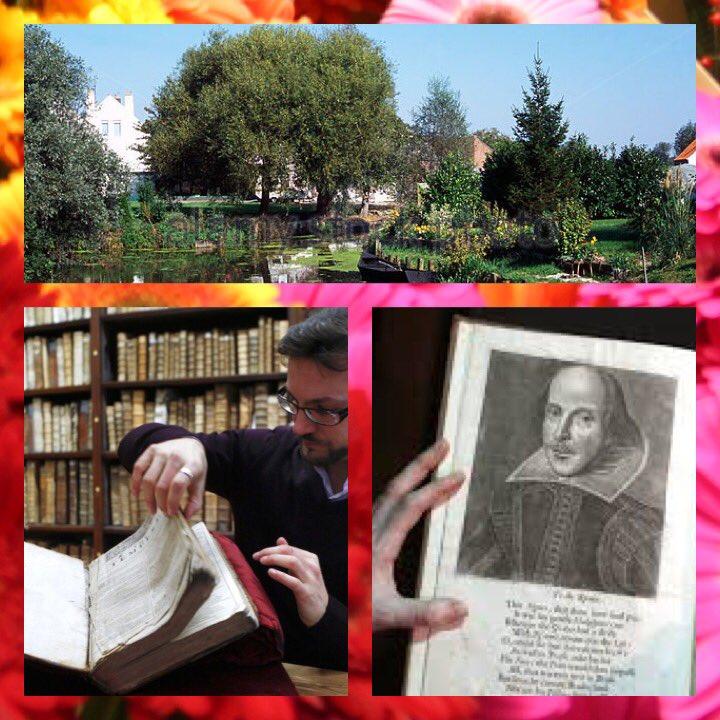 أول كتاب لشكسبير  بفرنسا