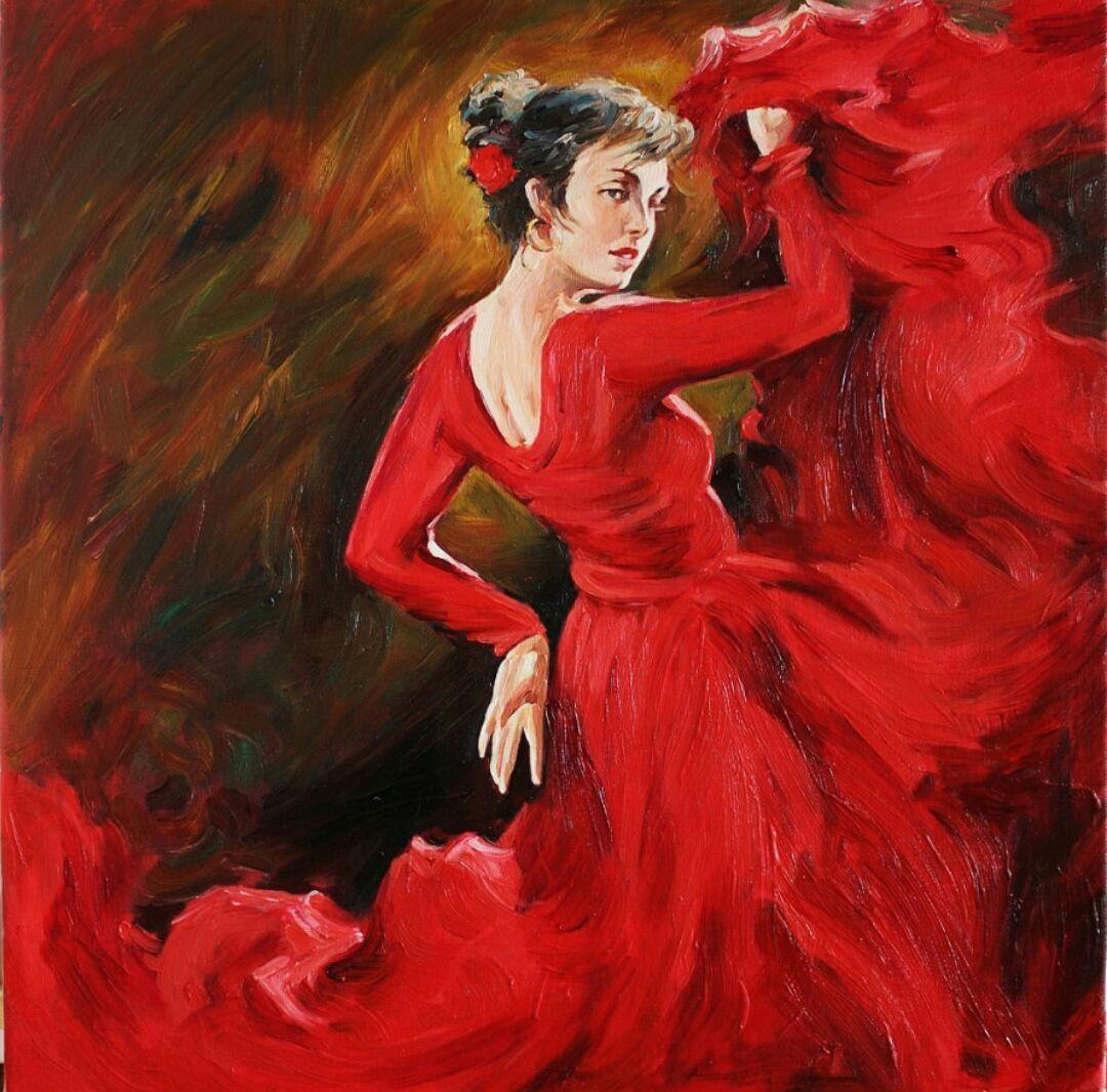 رقصة الفلامنكو : امرأة لم تعد تروض