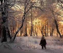 طفلتي والشتاء